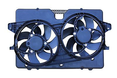 APDI 6018154 Dual Radiator and Condenser Fan Assembly for Ford Escape