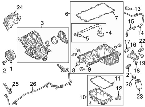 Parts Number Bc3z6675b Ford
