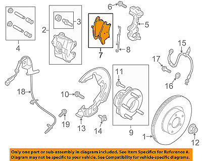 Unknown OE Replacement Ford Expedition Front Driver//Passenger Side Fender Splash Shield Partslink Number FO1251143