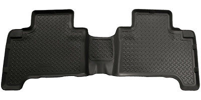 Husky Liners Floor Liner 65751; Classic Black Thermoplastic for 03-09 4Runner