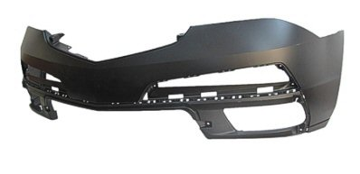 FRONT BUMPER COVER; WITHOUT HEAD LIGHT WASHER HOLES; PRIME/PAINT TO