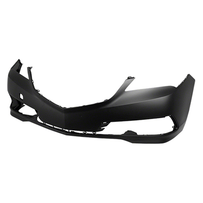 FRONT BUMPER COVER; WITHOUT PARK ASSIST SENSOR HOLES; WITHOUT HEAD