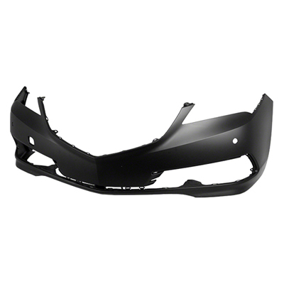 FRONT BUMPER COVER; WITH PARK ASSIST SENSOR HOLES; WITHOUT HEAD LIGHT