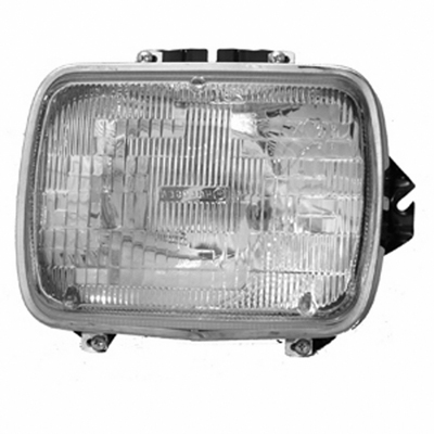 PASSENGER SIDE HEADLIGHT SEALED BEAM; INCLUDES LAMP/ BUCKET AND