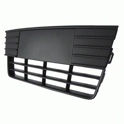 FRONT BUMPER COVER GRILLE; TEXTURED FINISH; FOR S/SE MODELS; MADE OF
