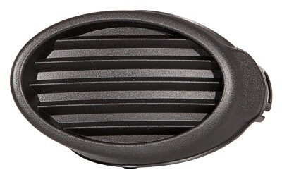 DRIVER SIDE FOG LIGHT HOLE COVER; FOR S AND SE MODELS WITHOUT FOGS