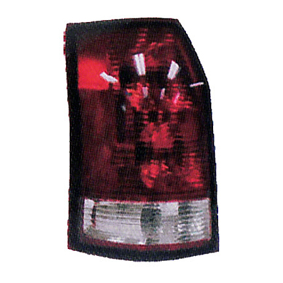 PASSENGER SIDE TAIL LIGHT LENS AND HOUSING
