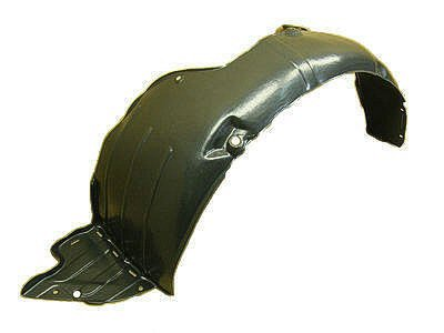 DRIVER SIDE FRONT INNER FENDER; MADE OF PLASTIC; USA BUILT