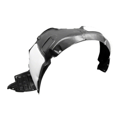 DRIVER SIDE FRONT FENDER LINER; WITH SPORT SUSPENSION; US BUILT