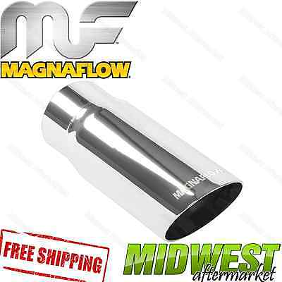 Magnaflow Performance Exhaust 35206 Stainless Steel Exhaust Tip 4 in. I.D. Inle