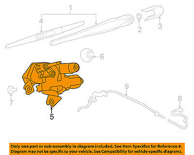 MOTOR ASSY-REAR WINDOW WIPER