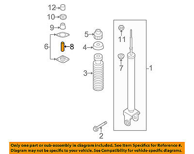 TUBE-DISTANCE,SHOCK ABSORBER MOUNTING