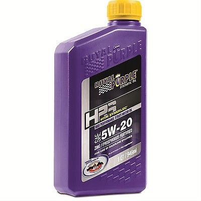 Royal Purple Engine Oil 31520; HPS Synthetic 5W20