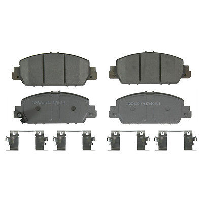 Disc Brake Pad-ThermoQuiet Front WAGNER QC1654 fits 13-17 Honda Accord