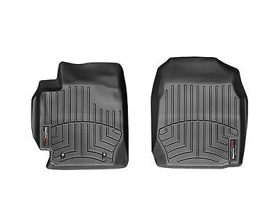 WeatherTech DigitalFit 1st Row Black Floor Liners for Toyota Corolla 442901